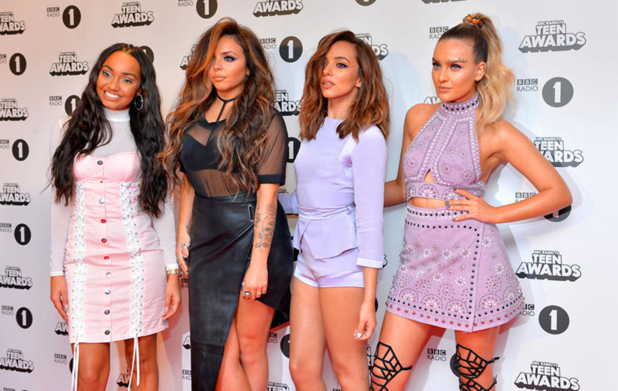 Little Mix defend racy outfits during appearance on The X Factor