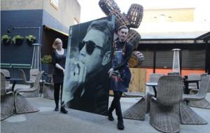 Co Antrim doctor admits theft of Steve McQueen portrait from Belfast hotel