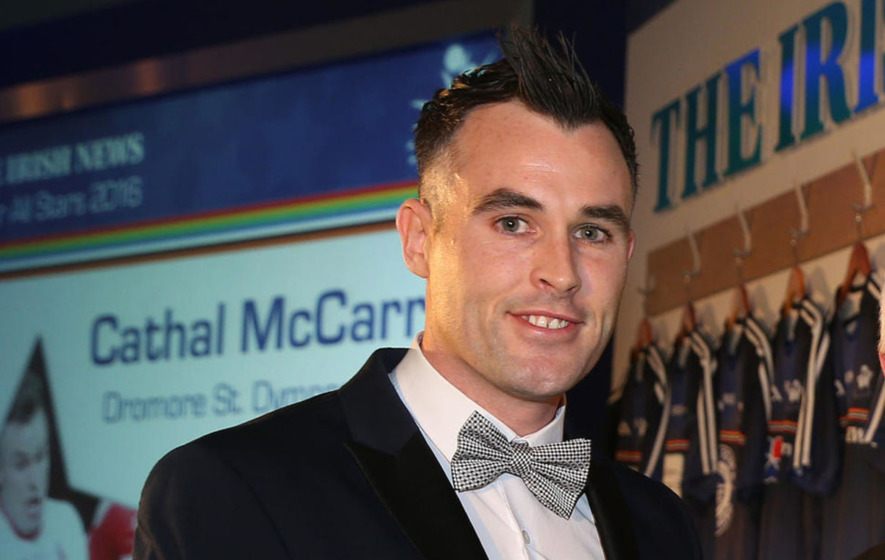 Tyrone footballer Cathal McCarron pulled from Late Late Show line-up