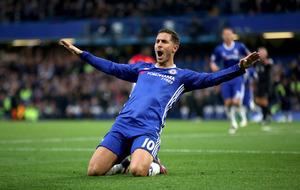 Eden Hazard stars as Antonio Conte's Chelsea thrash struggling Man United