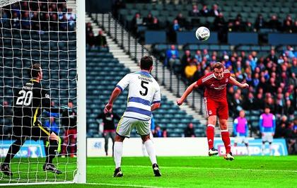 Aberdeen defender Andrew Considine glad to break his Hampden