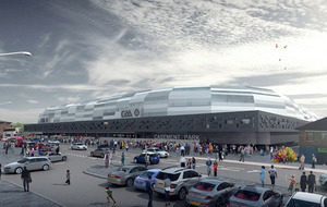 Casement Park: GAA unveils new stadium design with reduced capacity
