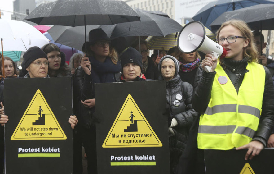 Protests held in Polish cities against new abortion law proposals