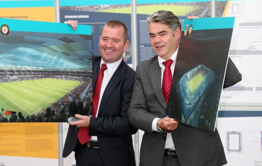 Casement Park: Key points of GAA's new design proposals for west Belfast stadium