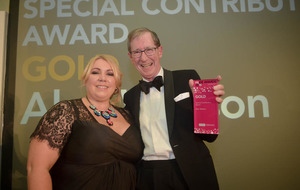 Former top journalist honoured for outstanding contribution to north's PR industry