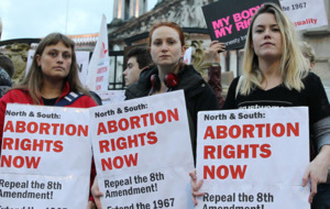 Hundreds attend pro-choice rally at Belfast City Hall amid abortion laws reform calls
