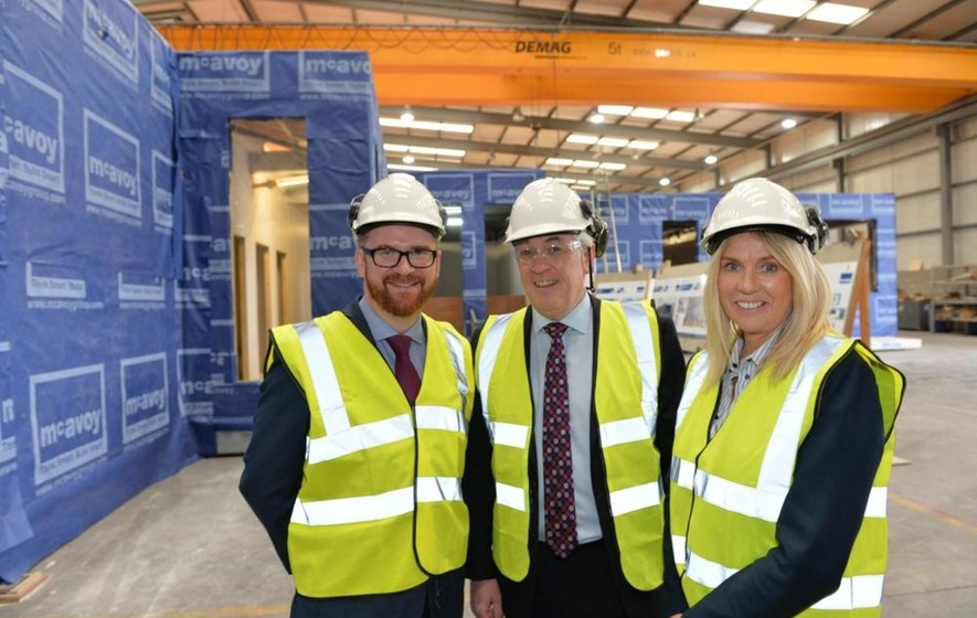 Mcavoy Group Announce 163 10 Million Investment In Modular