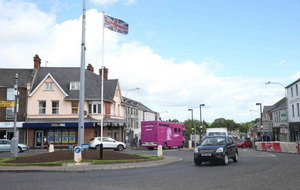 Union flag which flew for decades in Magherafelt has been taken down