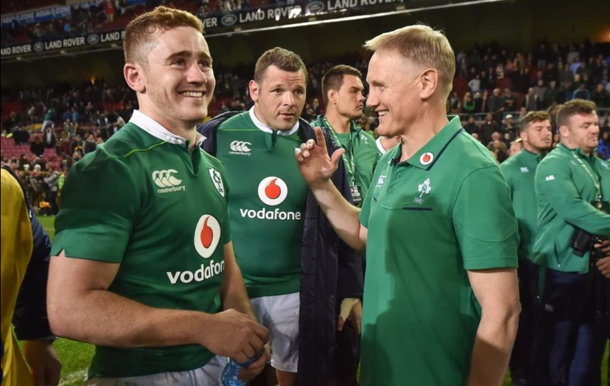 Six new faces in Ireland squad for All Blacks game