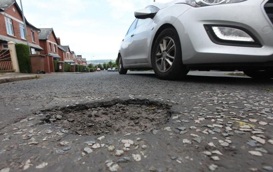 £83m underspend on road maintenance last year
