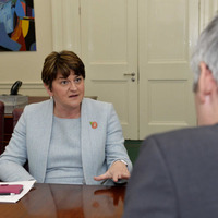Same-sex marriage setback as Arlene Foster vows to block law change