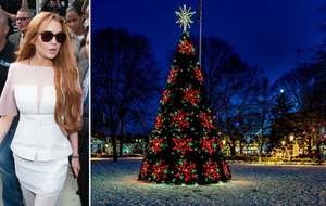 Lindsay Lohan looking increasingly unlikely to turn on the Kettering Christmas lights