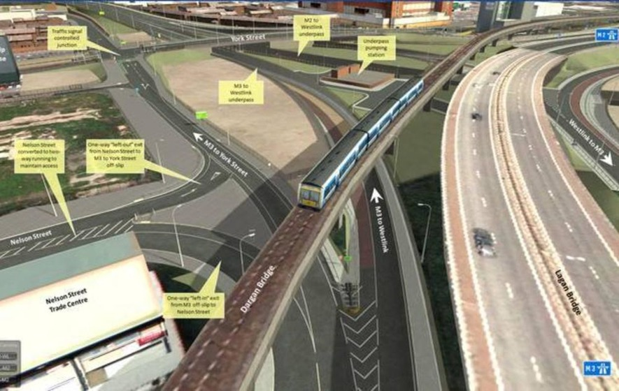 Stalled York Street Interchange project in Belfast has cost more than £7m so far