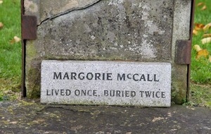Video: Margorie McCall who 'lived once and was buried twice'