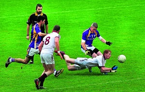 Sloppy Slaughtneil sneak past Derrygonnelly Harps