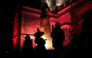 Derry Walls lit up as city celebrates Halloween with spectacular carnival