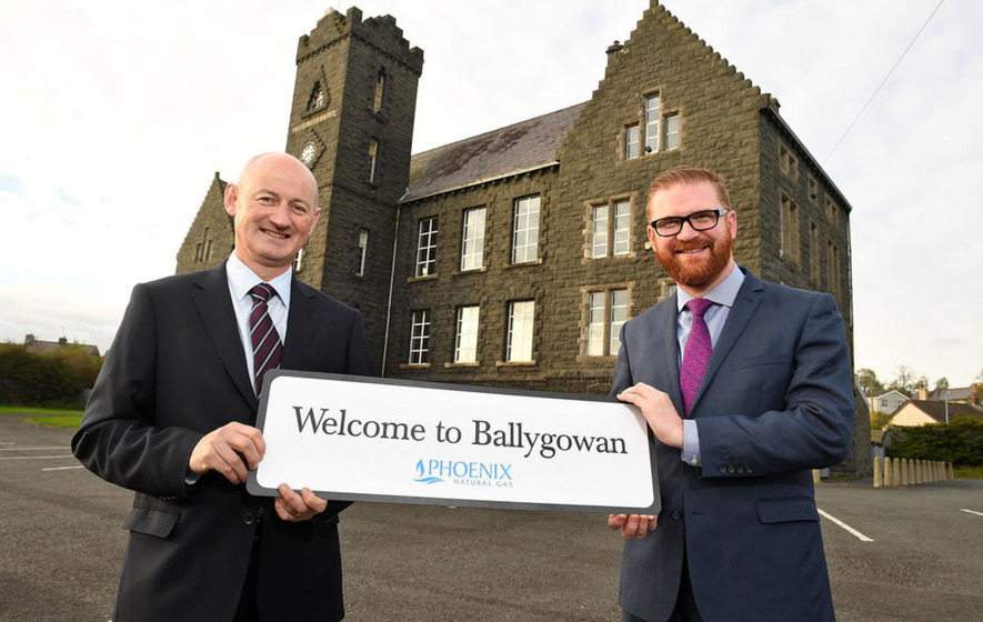 Ballygowan is first town to benefit from £60m gas expansion project