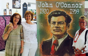 Armagh writer John O'Connor honoured with Blue Plaque unveiling in Armagh
