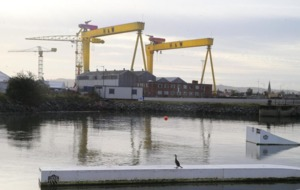 Irish News photographer Hugh Russell captures images of Belfast from the sea
