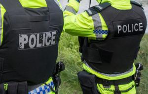Police investigating loyalist activity in east Antrim arrest man (38)