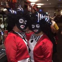 Pub chain apologises over golliwog Halloween costumes