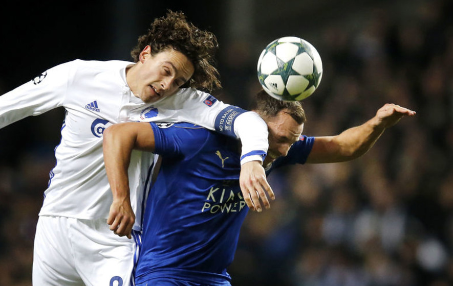 FC Copenhagen draws 0-0 with Leicester in Champions League