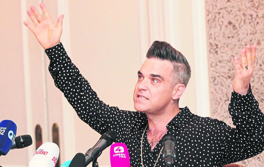 Robbie Williams: Maybe Irish people love me because I\'m f***ing ...