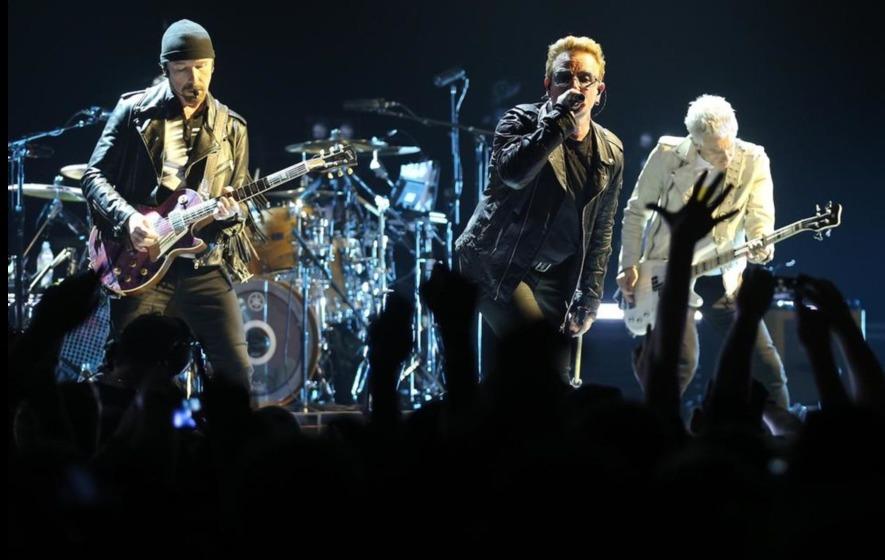 U2 and The 1975 big winners at Q Awards