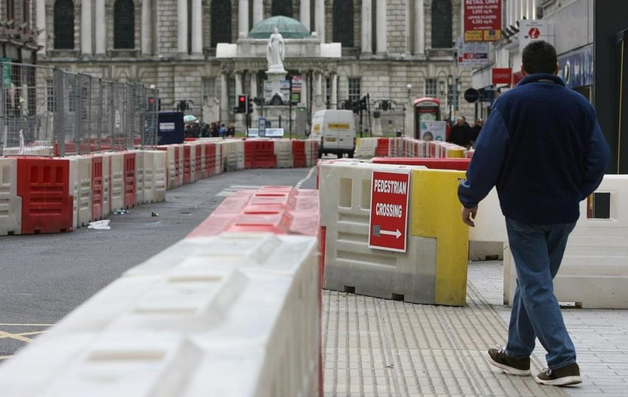 Roadworks to be halted in Belfast for Christmas shoppers