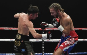 Jamie Conlan cruises past David Koos