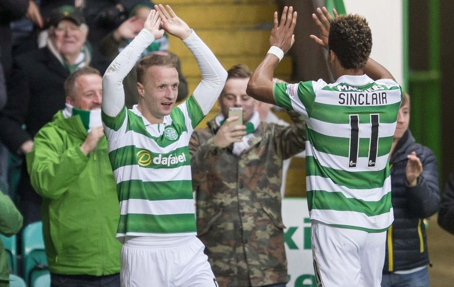 Celtic's Leigh Griffiths happy to be back amongst the goals