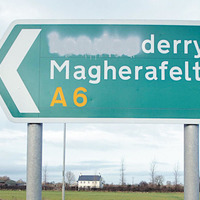 No prosecutions in Northern Ireland for defacing road signs in five years