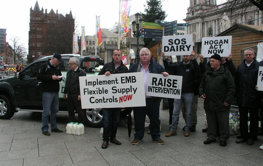 Dairy farmers to vote on strike action in protest at price of milk