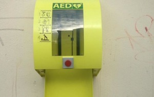 Community defibrillator stolen from  south Belfast store