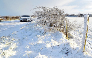 Temperatures drop to minus 5 as we brace for a cold winter