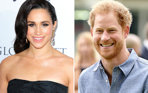 Prince Harry condemns 'abuse' of his girlfriend Meghan Markle