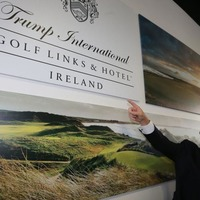 Irish golf course owned by Donald Trump expects to be 'put further on the map'