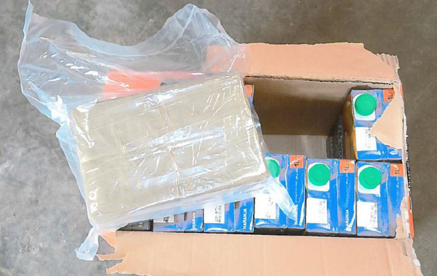 Gang jailed for smuggling cannabis in orange juice cartons
