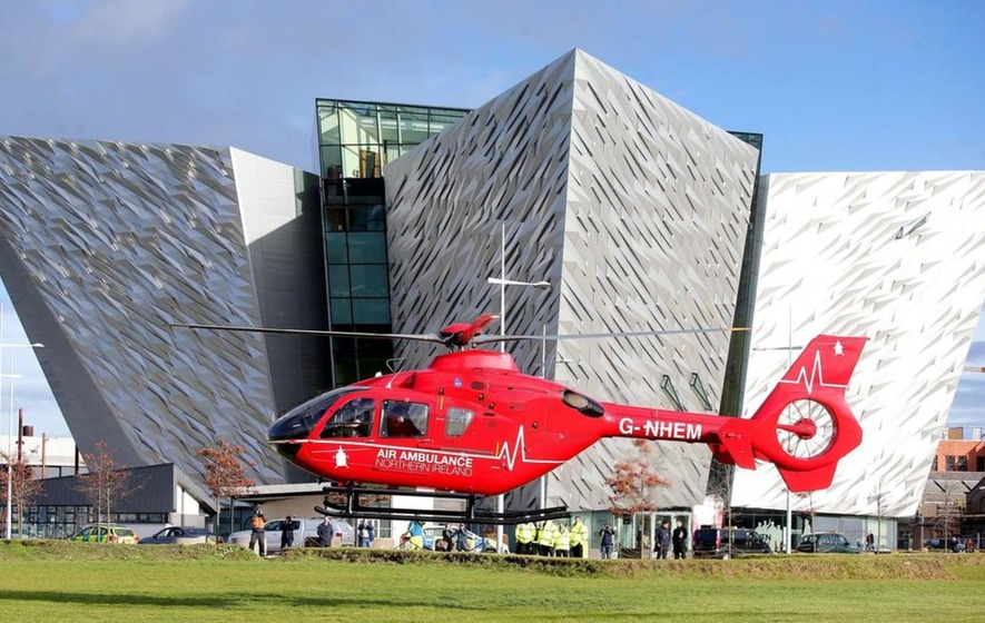 Air Ambulance Could Save Up To 50 Lives A Year When It