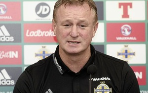 Players will concentrate on the football after IFA ruling says Northern Ireland manager Michael O'Neill
