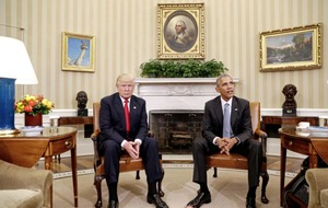 Obama and Trump hail 'excellent' first White House meeting