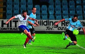 Linfield gain momentum in Crusaders pursuit