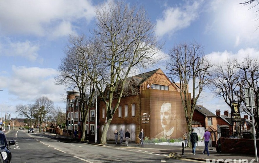Details of new James Connolly interpretive centre in west Belfast