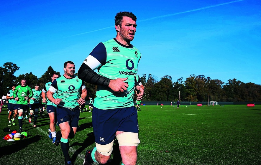 Ireland captain Peter O'Mahony vows to lead by example