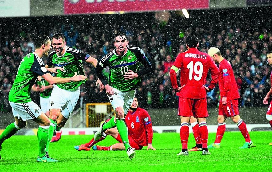Northern Ireland thump Azerbaijan
