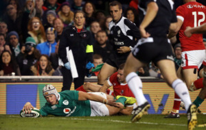Eight-try Ireland too strong for Canada