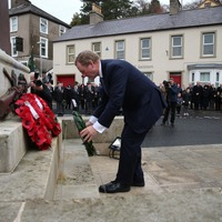 Taoiseach Enda Kenny joins Arlene Foster at Remembrance Sunday in Enniskillen