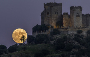 Sky gazers are loving the first glimpses of the supermoon