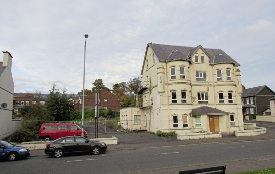 Former landmark hotel in larne on sale for 275 000 the for Former hotel for sale