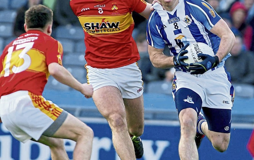Aaron Kernan: Going gets toughest in club championships